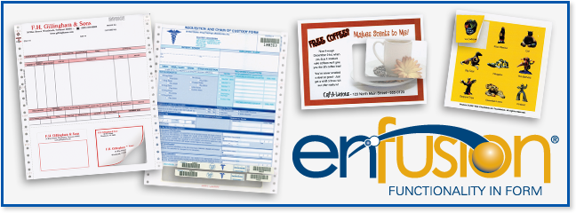 Integrated Products and Enfusion line by Ennis