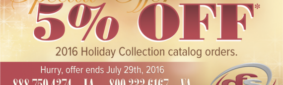 GFS 2016 Holiday Catalog Promo