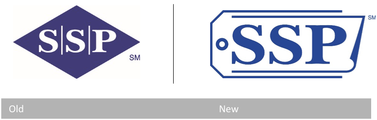Transition from old SSP logo to new SSP logo
