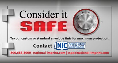 Consider it SAFE with NIC envelope tints
