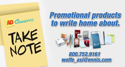 Ad Concepts - Promotional products to write home about.