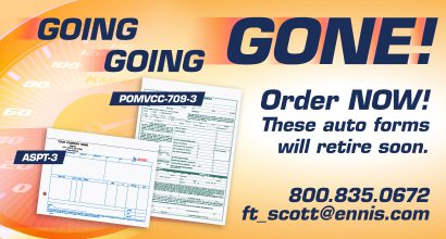 Ft. Scott Auto Order Forms