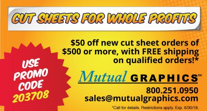 Mutual Graphics Cut Sheets for Whole Profits