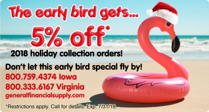 GFS Early Bird Gets 5% OFF*