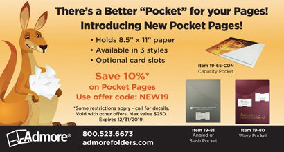 """Admore - There's a Better """"Pocket"""""""