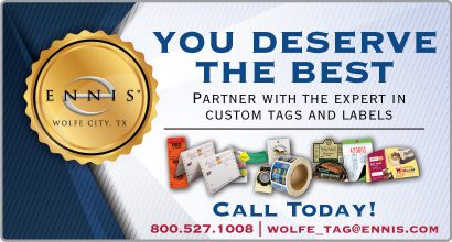Wolfe City Expert in Tag and Labels