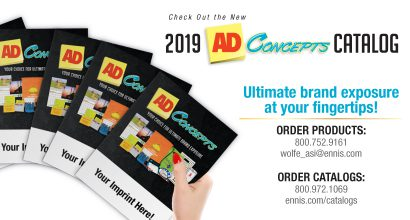 Check Out the New 2019 Ad Concepts Catalog