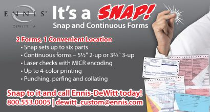 OH175 DeWitt Snap and Continuous Forms Promo