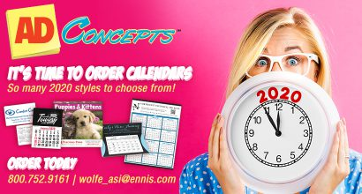 OH225 - AdConcepts Time to Order Calendars
