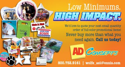 Ad Concepts Low Minimums High Impact
