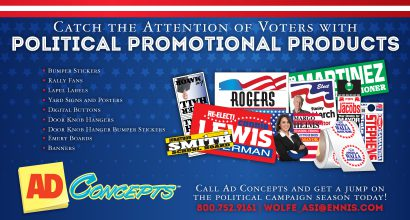 PH131 - AdConcepts JULY Promo - Political Promo Products
