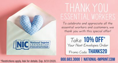 PH200 - NIC JULY Promo-Thank You Essential Workers