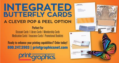 PH273 - Printgraphics Integrated Butter Fly Card Promo