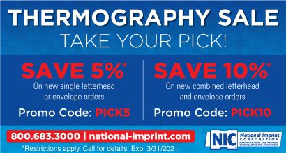 PH318 - NIC JAN Promo - Thermography Sale