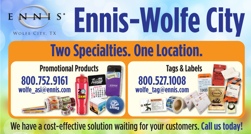 Ennis-Wolfe City - Two Specialties. One Location.