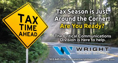 QH172 - Wright BG CCD Tax Time is Coming